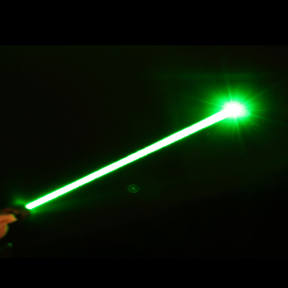 5pcs 100mw 532nm Mid Open Fixed Focus Green Laser Pointer