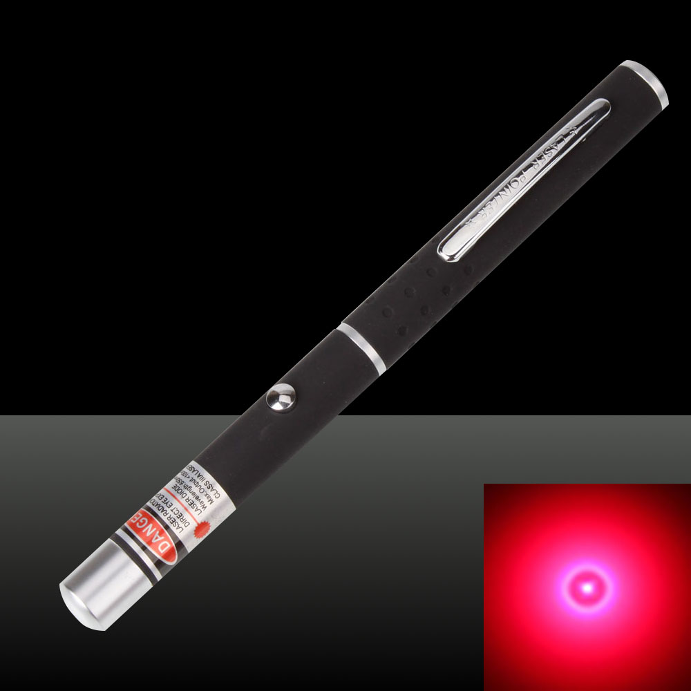 100mW 650nm High Power Mid-open Red Laser Pointer Pen