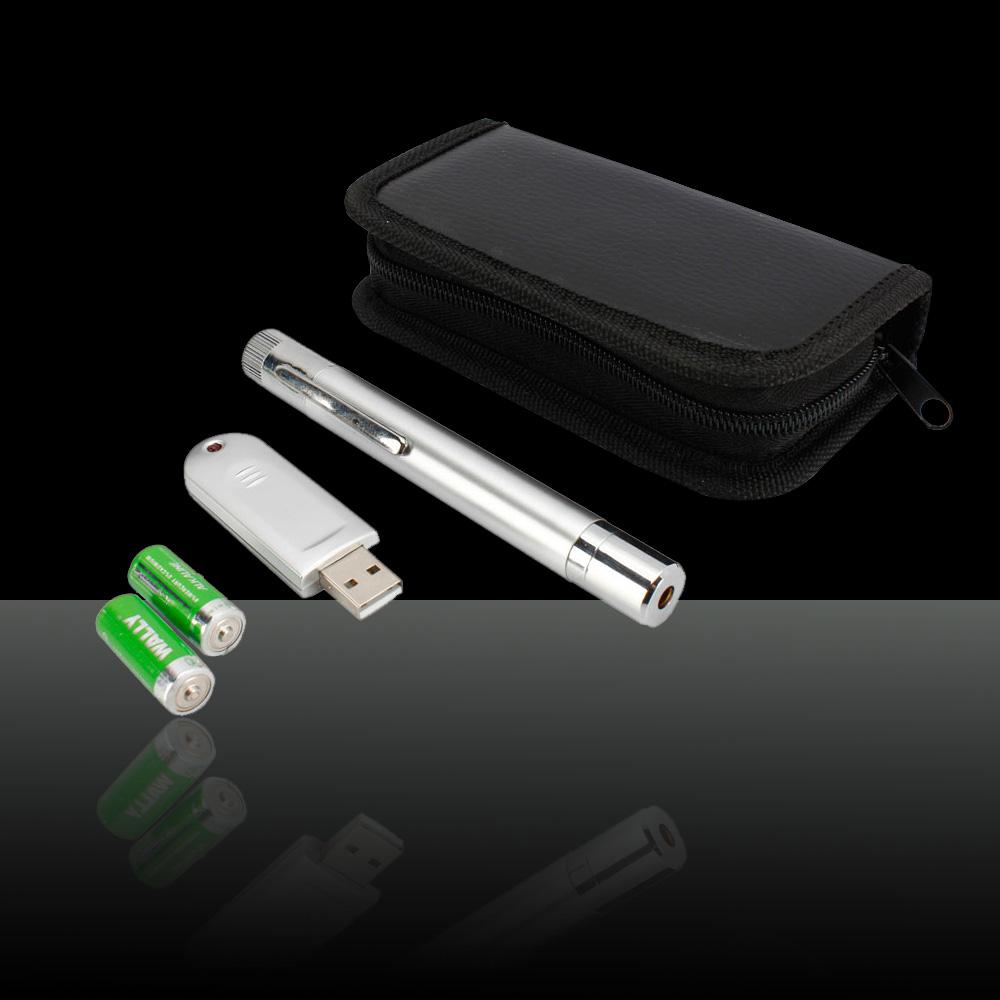 5mw 532nm Usb Wireless Powerpoint Word Green Laser Pointer