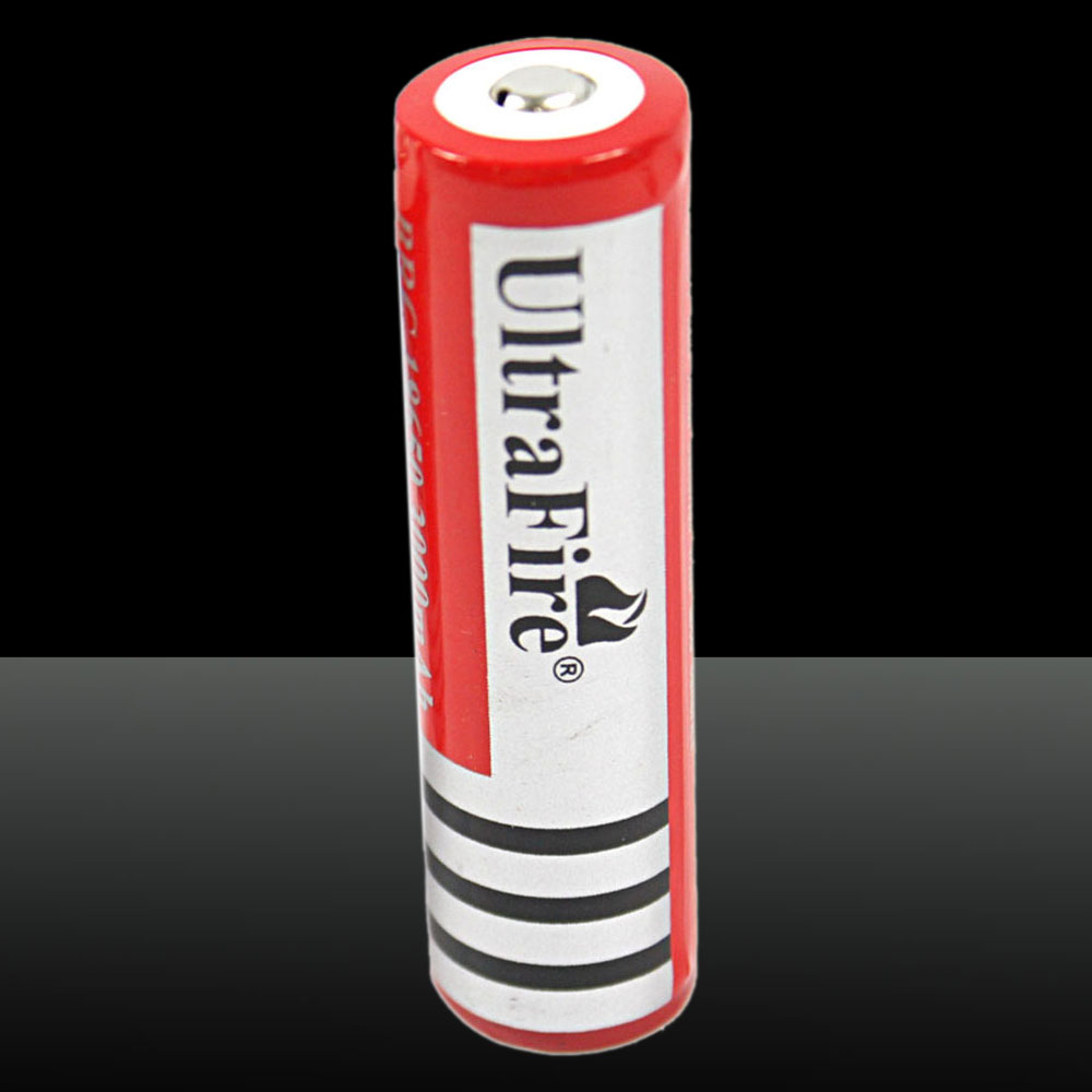 18650 3000mAh 3.7V Rechaargeable Battery Red
