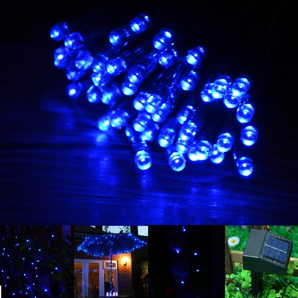 Reviews of 60 LED 10M Solar String Fairy Lights Xmas Outdoor Party - Laserpointerpro.com