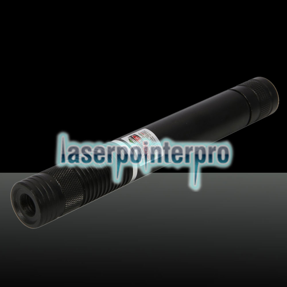 400MW Beam Green Laser Pointer (1 x 4000mAh) Negro