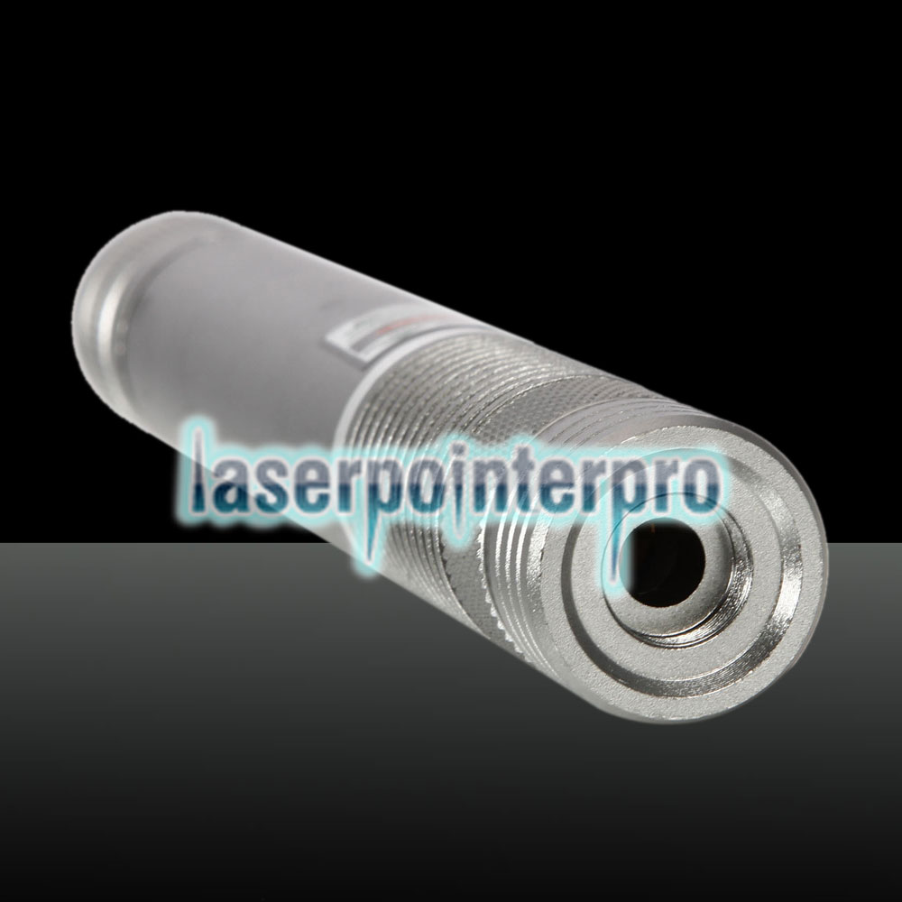 500 MW Beam Green Laser Pointer (1 x 4000mAh) Silber