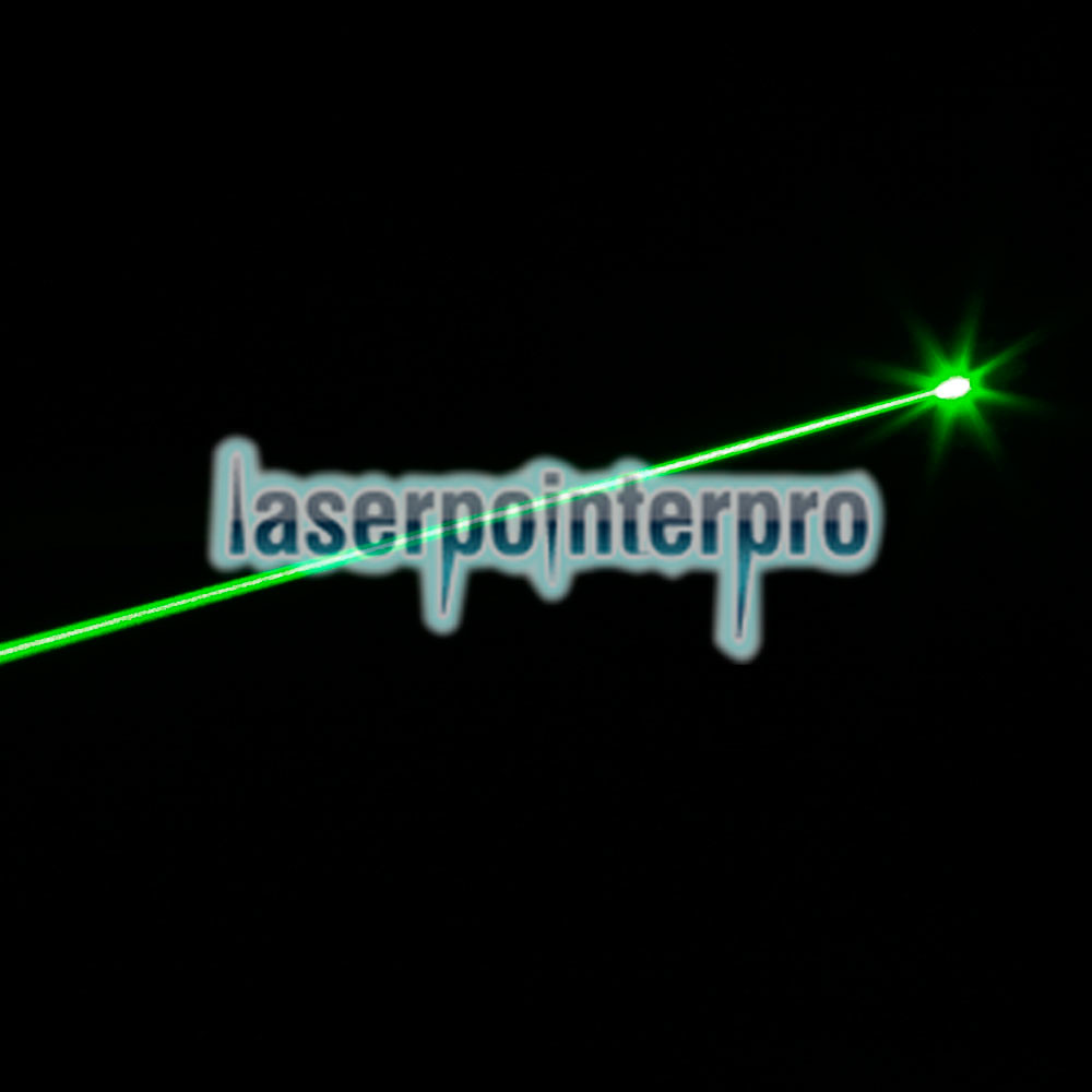 250mW 532nm Green Beam Light Puntero láser Negro 501B