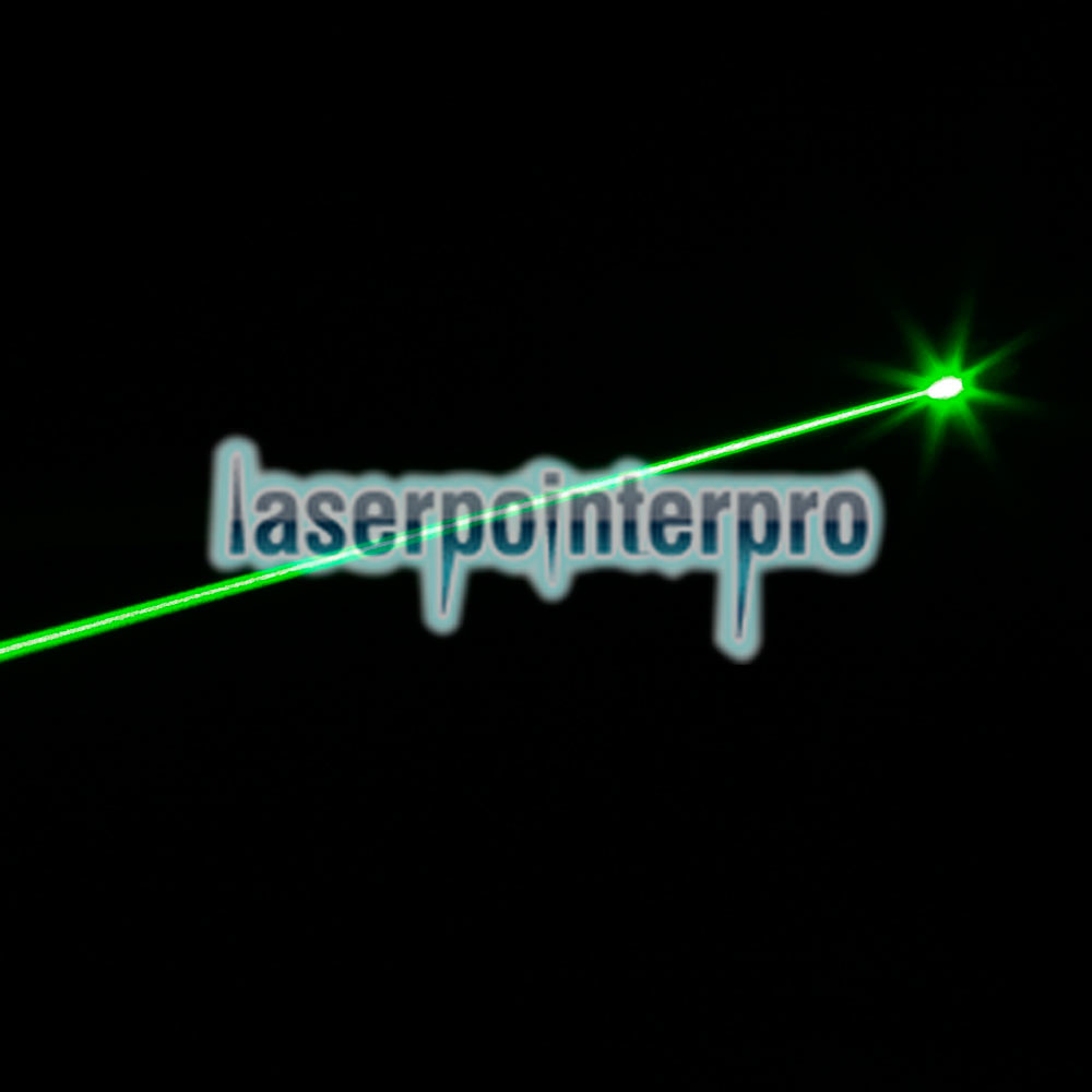 100mW Burning 532nm Green Light Light Lotus Laser Gun Sighter Nero