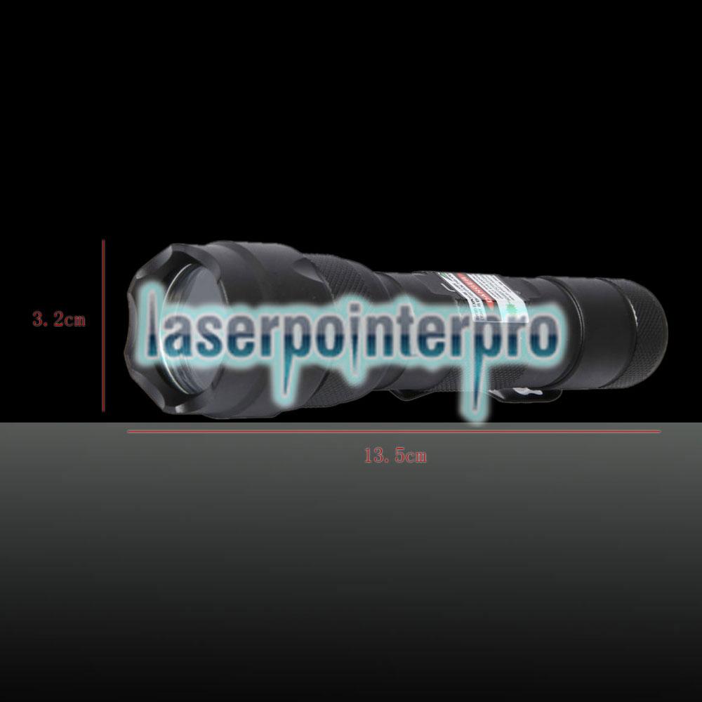 Stylo pointeur laser pour faisceau lumineux 250mW 532nm noir 502B