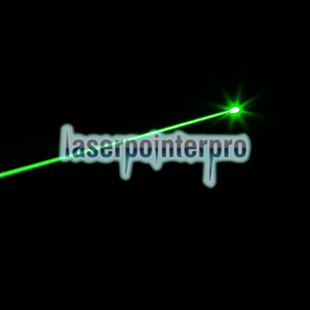 Chasseur de pistolet laser 250mW à faisceau plat et à tête plate, noir