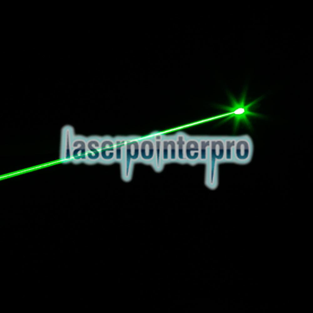 230mW 532nm grüner Lichtstrahl Laserpointer Silber