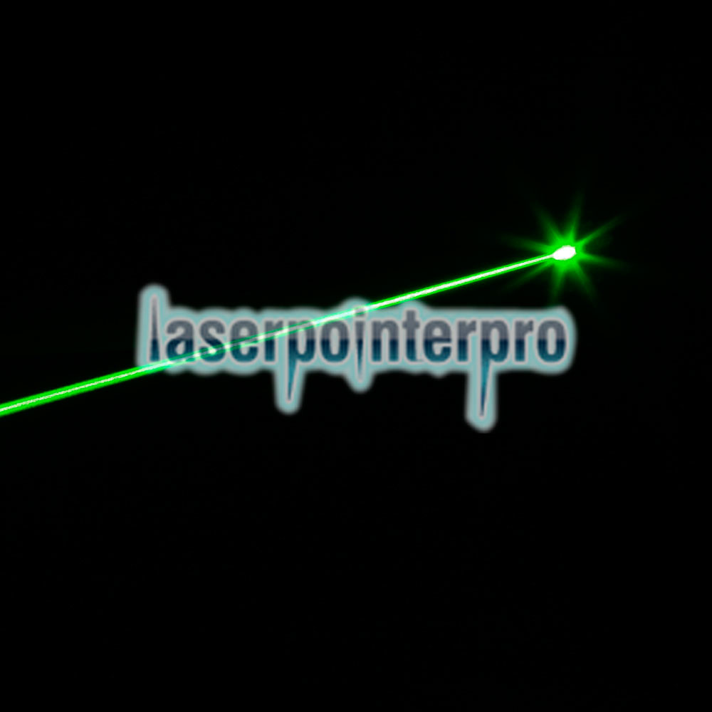100mW 532nm feixe de luz verde Laser Pointer Pen Preto