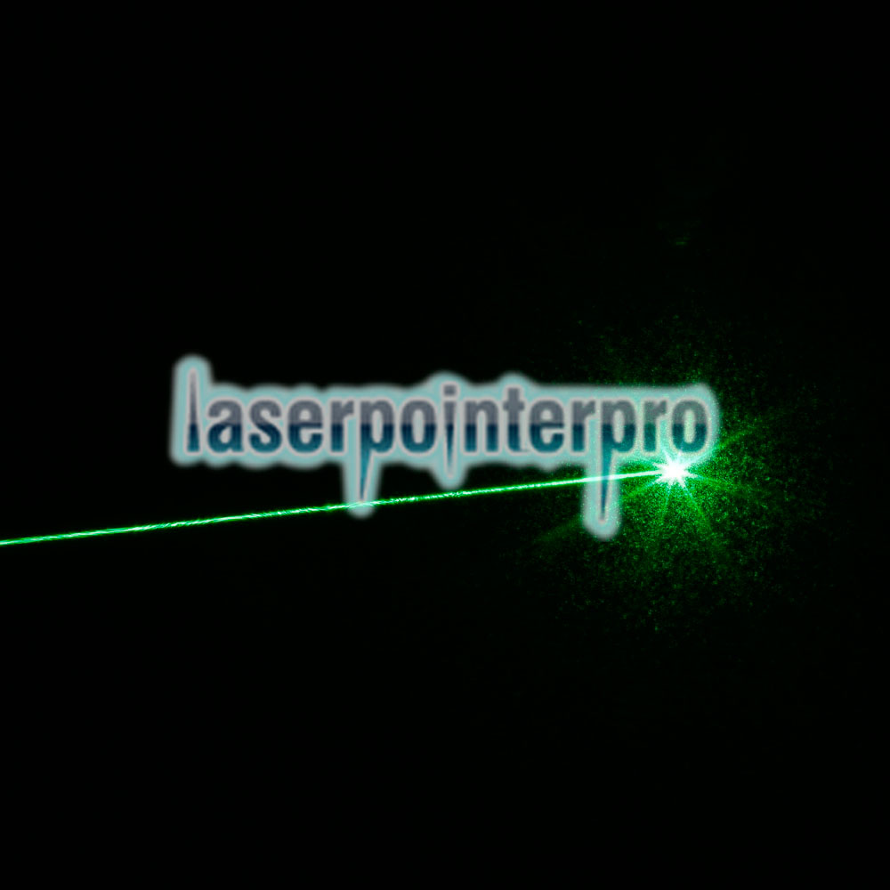 50mW 532nm grüner Strahl Single-Point-USB-Lade-Laserpointer rot