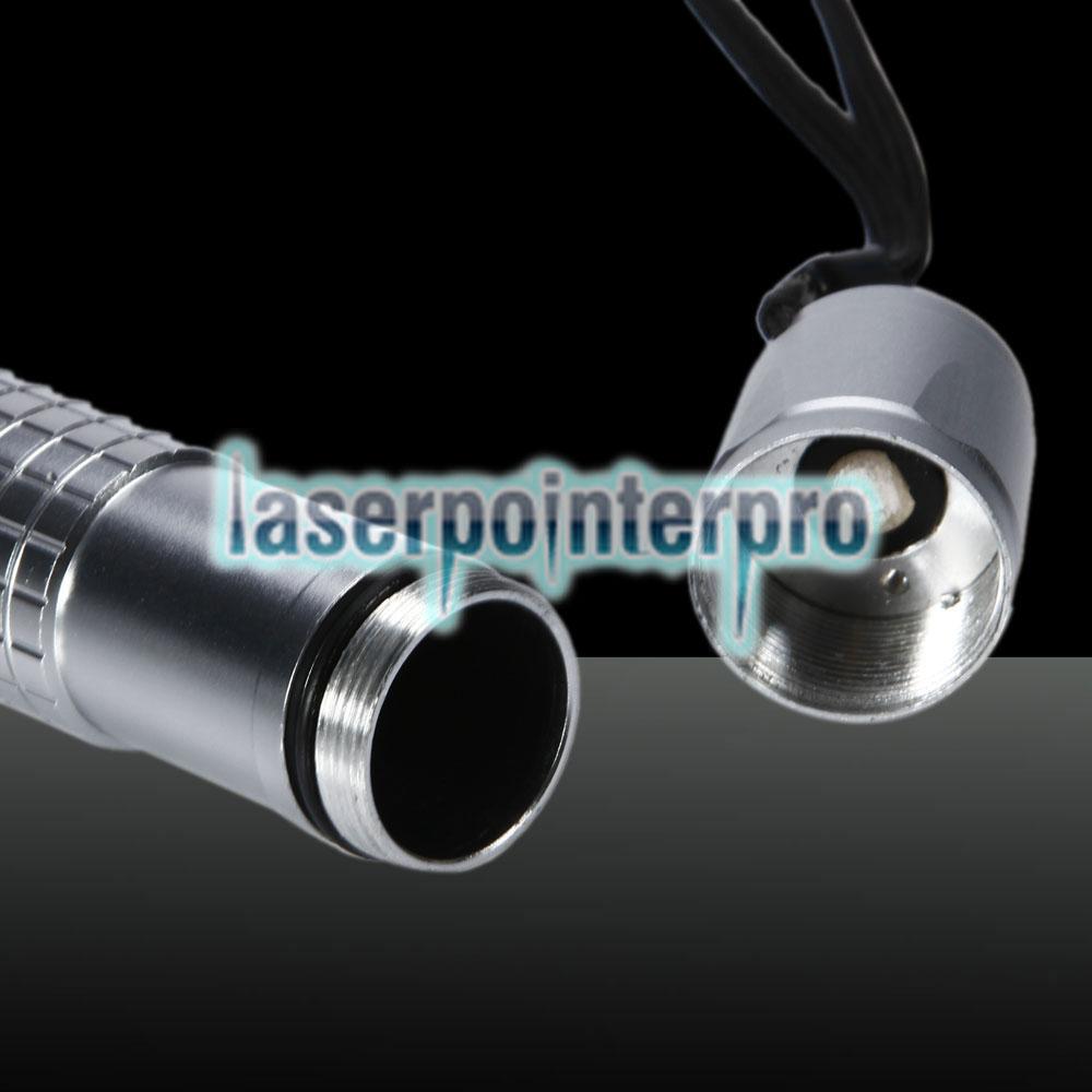 le violet pointeur laser