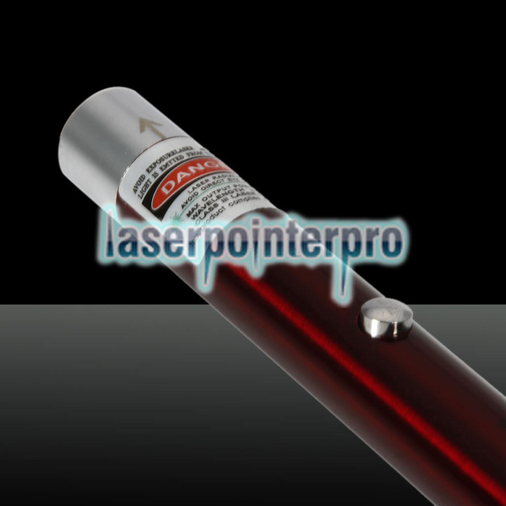 Pointeur laser rechargeable à point unique 200mW 532nm Green Beam Light, rouge