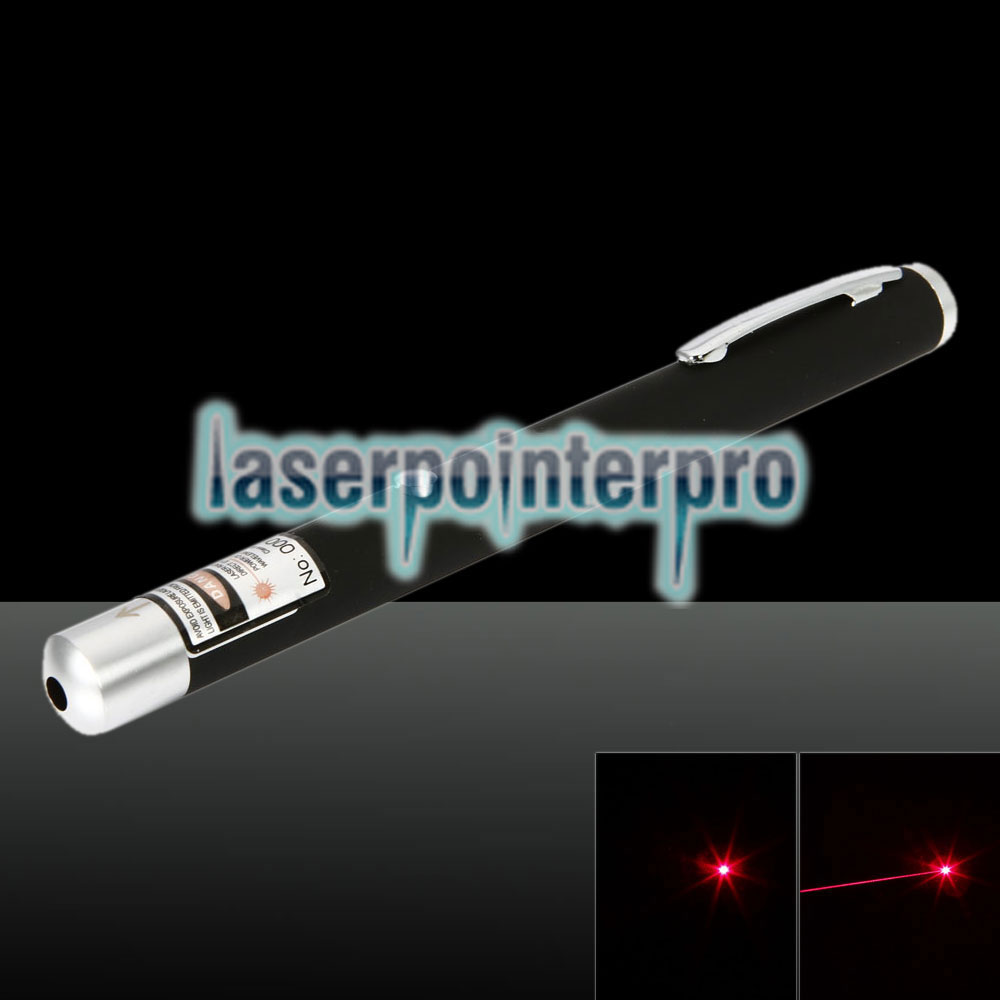 Pointeur laser rechargeable 1mW 650nm Red Beam Light rose