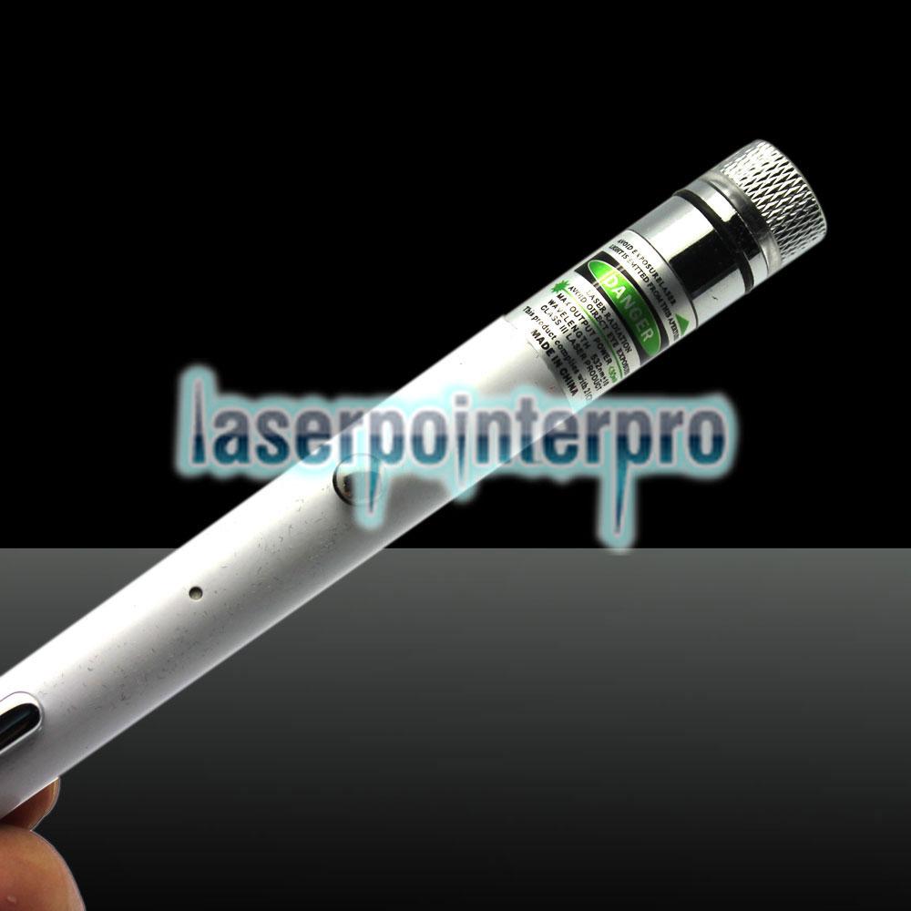 LT-ZS02 400mW 532nm 5-in-1-USB-Laserpointer zum Aufladen Weiß