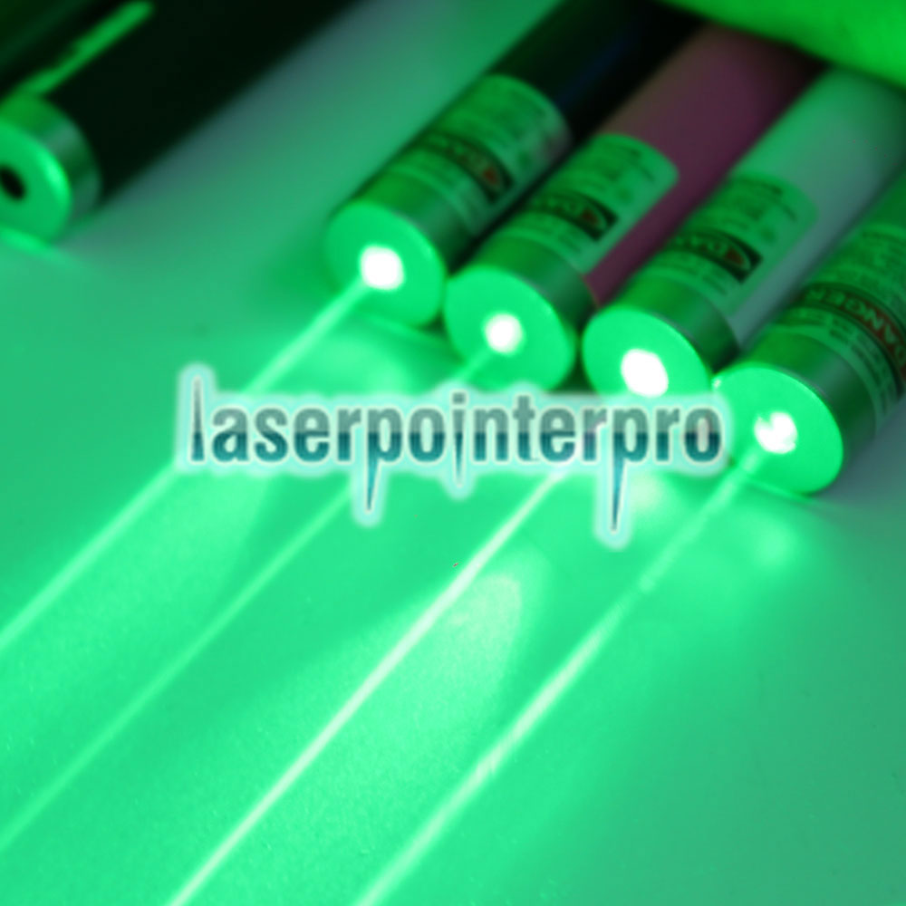 Pointeur laser rechargeable point unique USB 100mW 532nm noir LT-ZS004