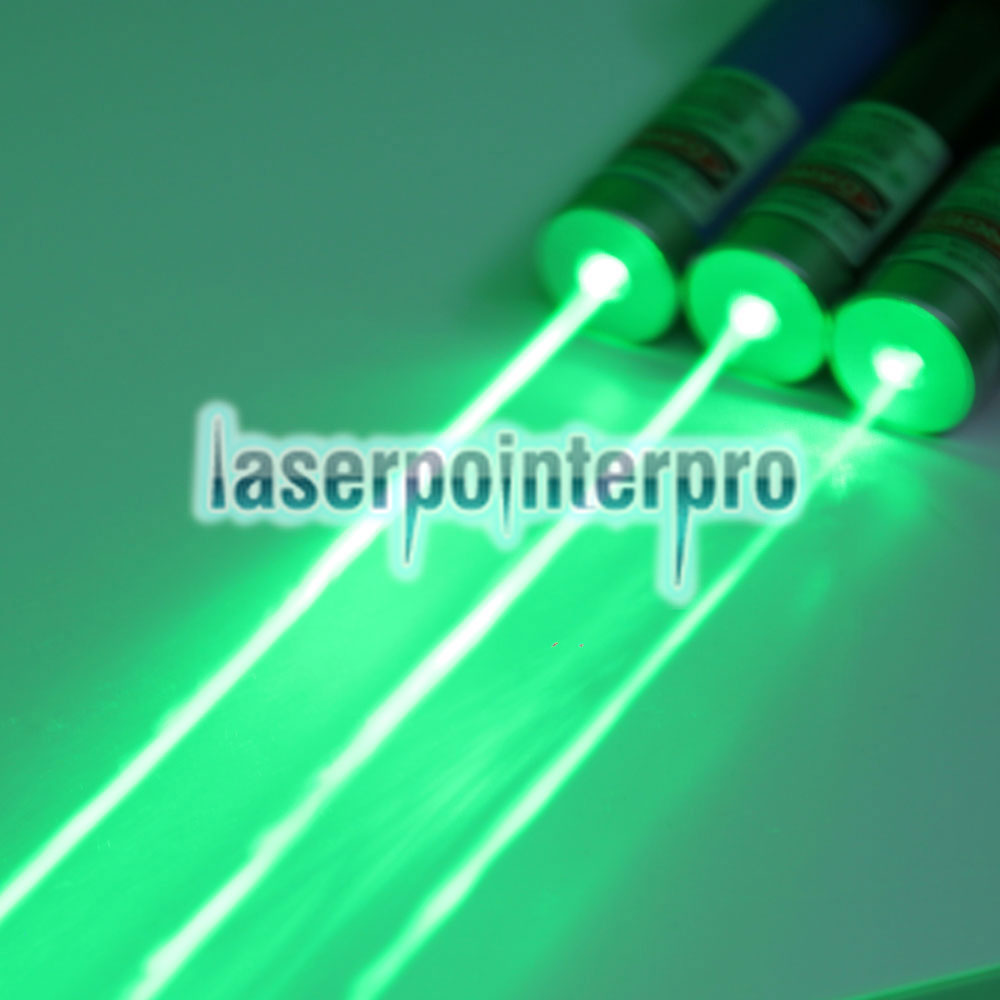 500mW 532nm Green USB recargable Fine Copper Laser Pointer Blue