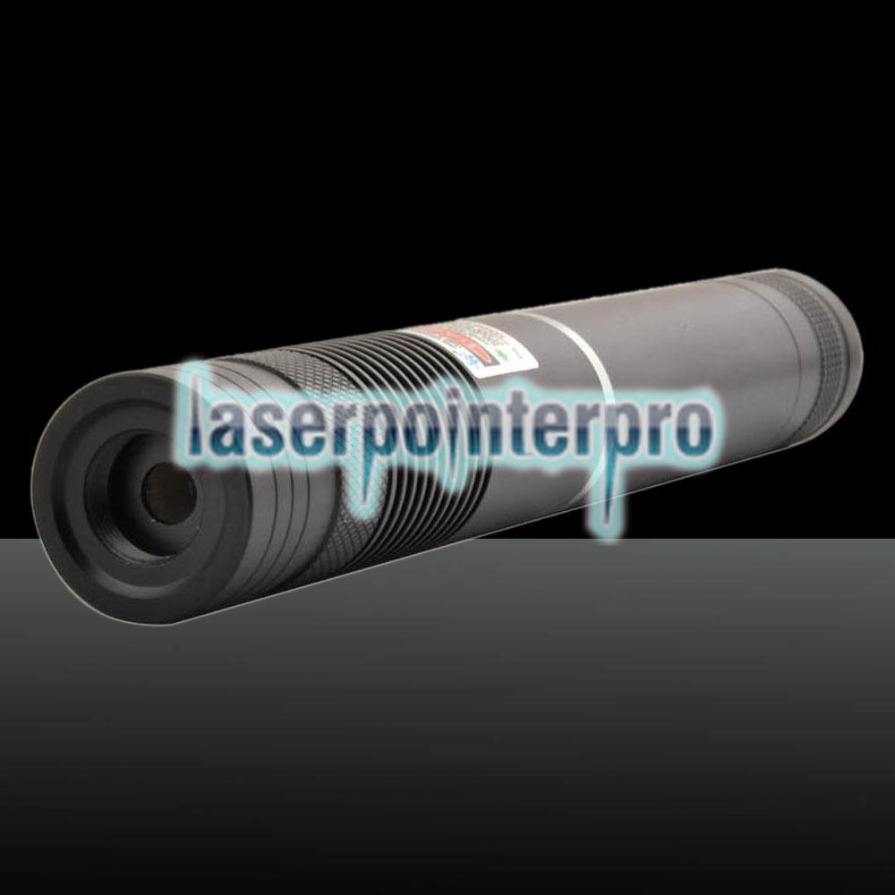 500mW 532nm feixe de luz verde com foco portátil Laser Pointer Pen Preto LT-HJG0086