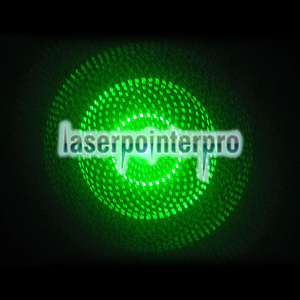 Pointeur laser portatif de focalisation de faisceau vert de faisceau de 500mW 532nm noir LT-HJG0086