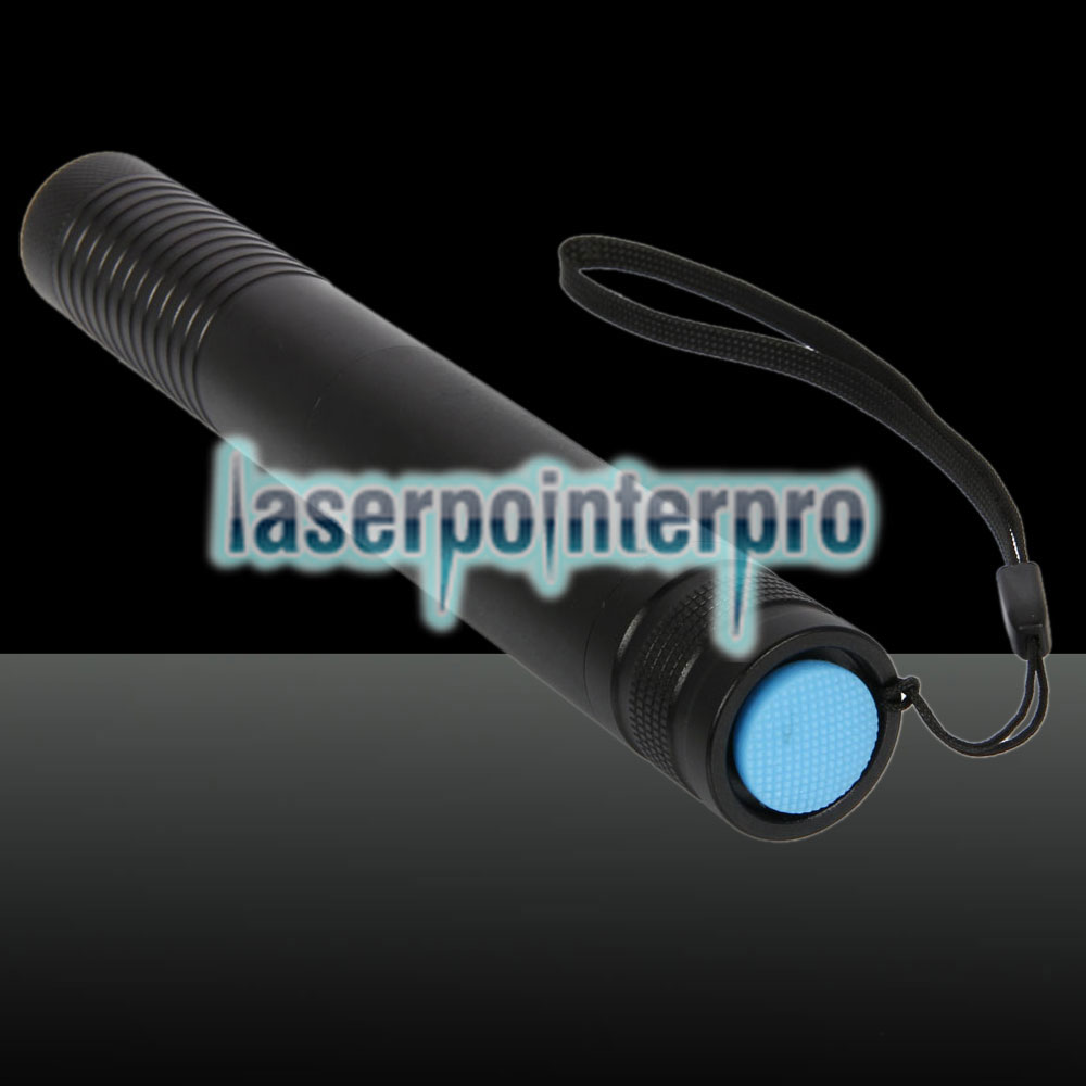 2000mW 450nm Single-point Blue Beam Light Laser Pointer Pen Black