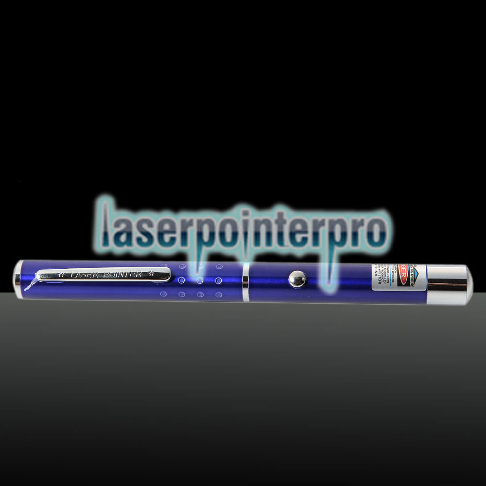 405nm 1mw Blue & Purple Laser Beam Single-point Laser Pointer Pen Blue