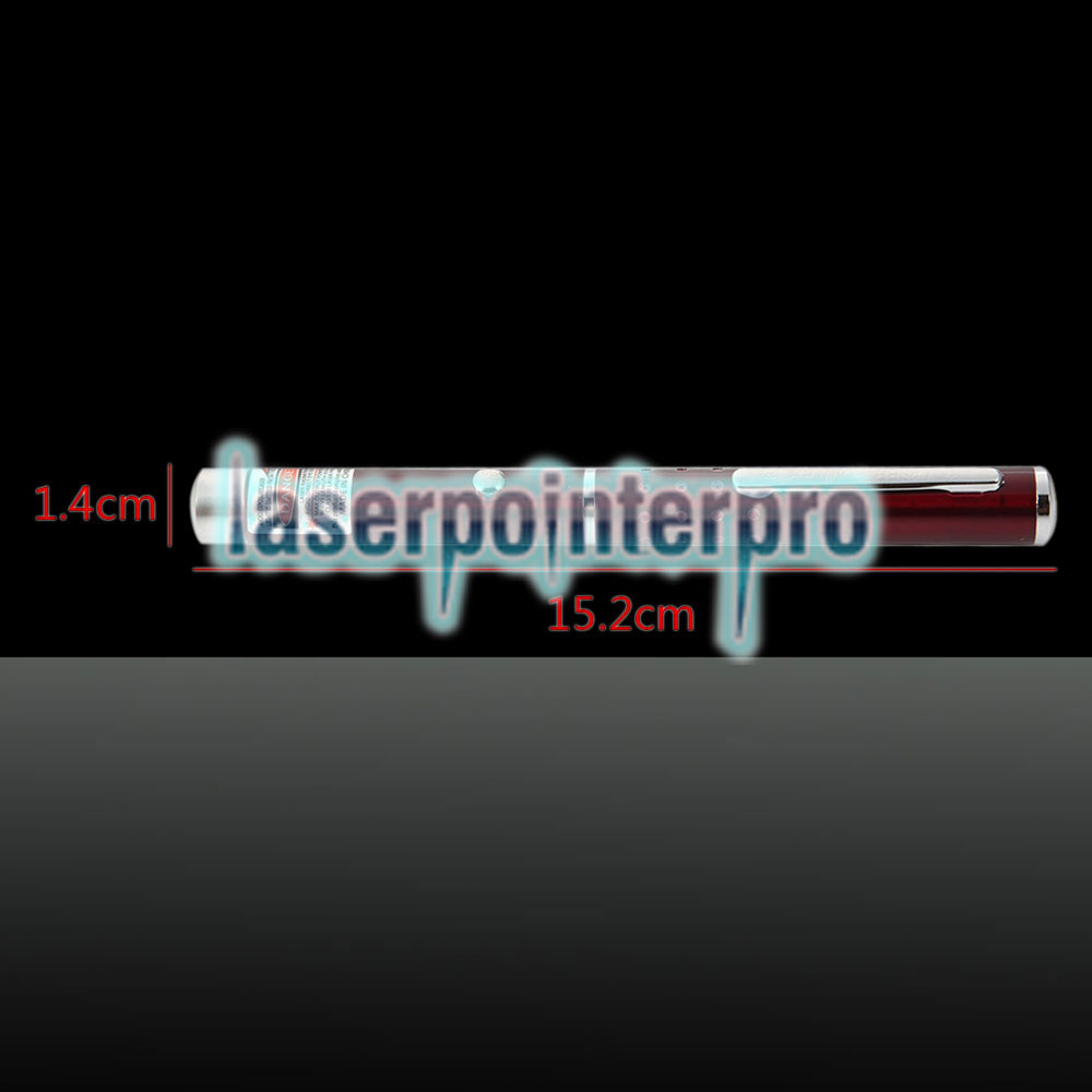 650nm 1mw Red Laser Beam Single-ponto Laser Pointer Pen Vermelho