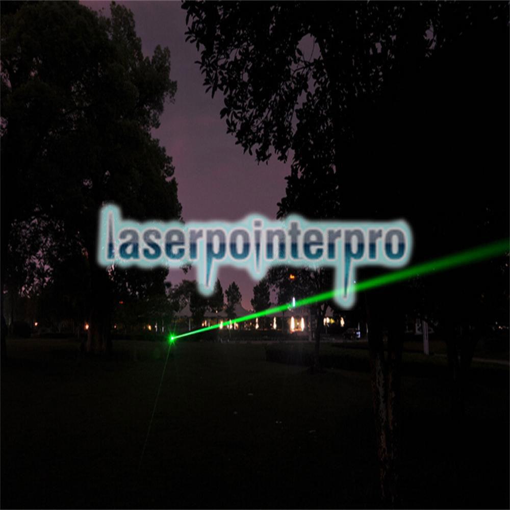 300mw 532nm Green Laser Beam Puntero láser con cable USB Negro