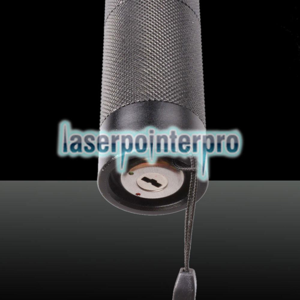 500mW 532nm 650nm Penna puntatore laser a due colori con luce rossa verde 2 in 1, colore nero
