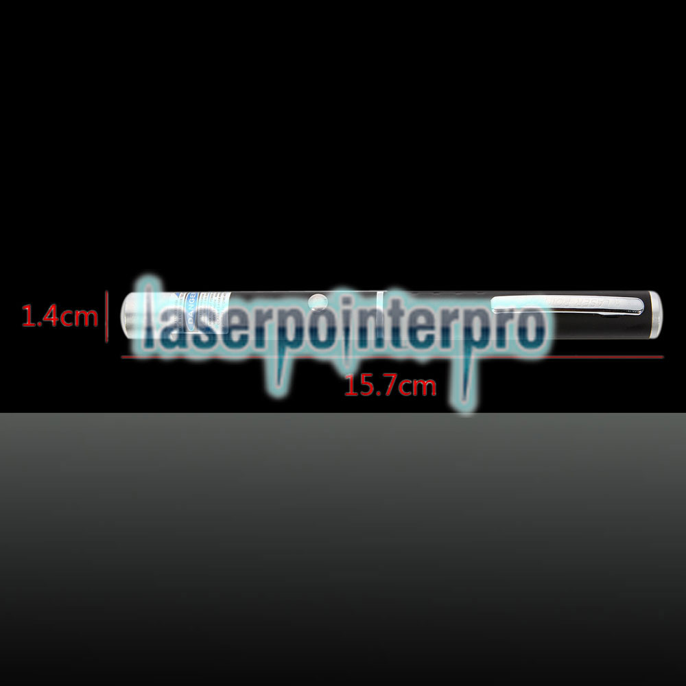 405nm 1mw Strahl Lila Laserpointer Schwarz