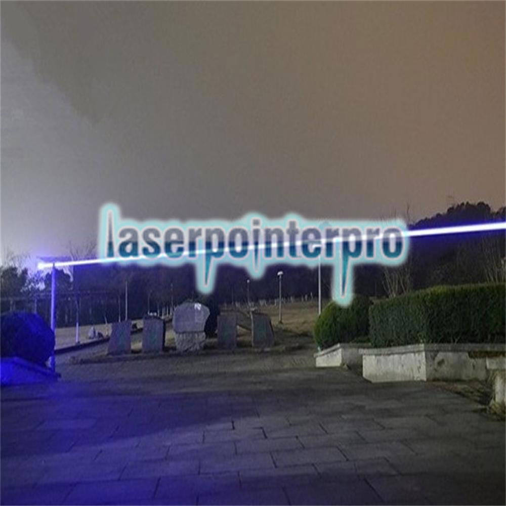 LT-08890LGF 3000mw 450nm Pure Blue Beam Luz Multi-funcional Recarregável Laser Pointer Pen Set Preto