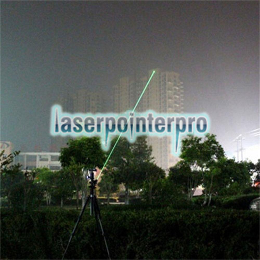 400mw 532nm feixe de luz único ponto luz estilo todo em aço caneta laser pointer brilhante cor de metal