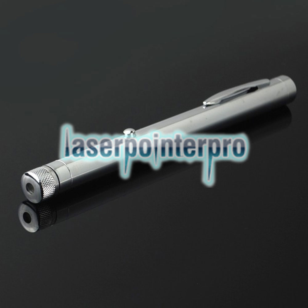 500mw 532nm Green Beam Light Starry Sky Light Style All-steel Laser Pointer Pen Bright Metal Color