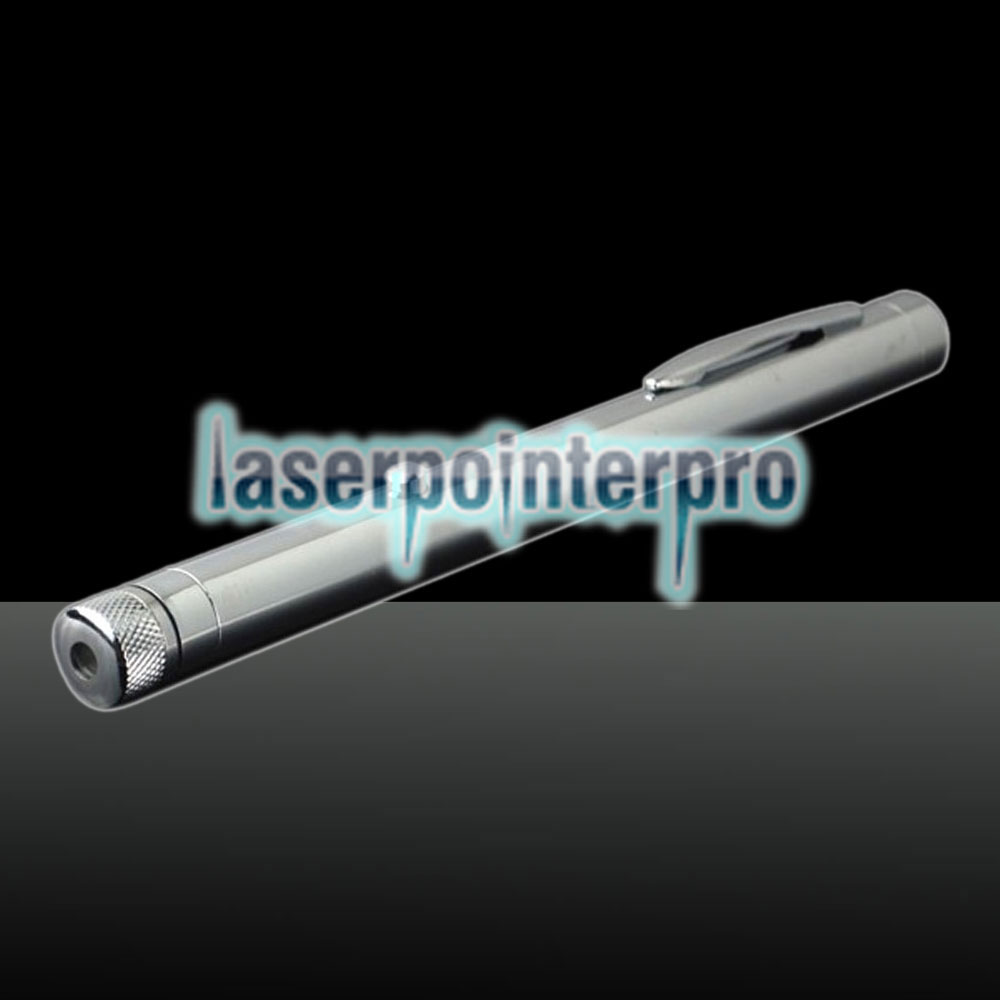 300mw 532nm Green Beam Light Starry Sky Light Style All-steel Laser Pointer Pen Bright Metal Color