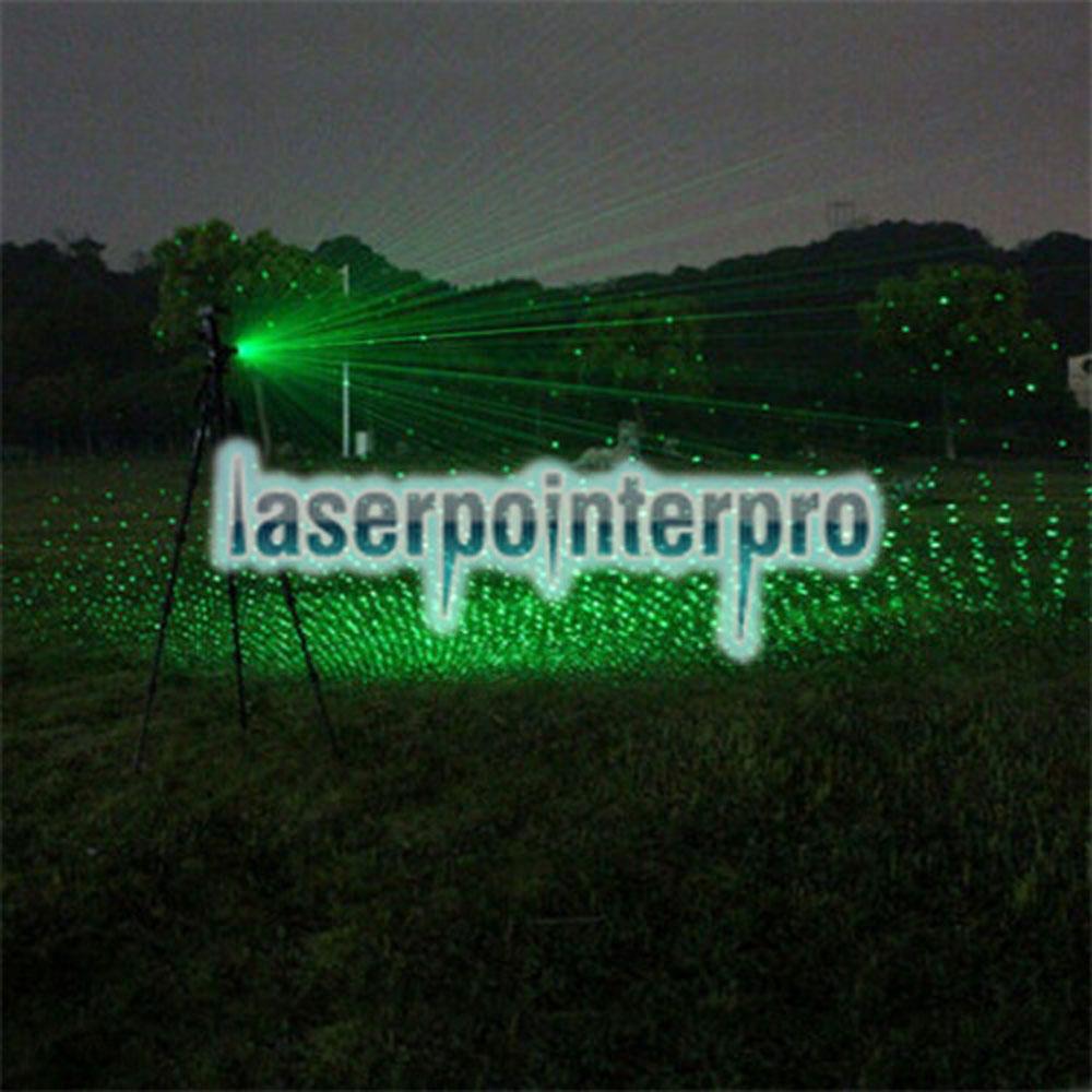 300 mw 532nm feixe de luz verde estilo de luz do céu estrelado todo em aço caneta laser pointer brilhante cor de metal