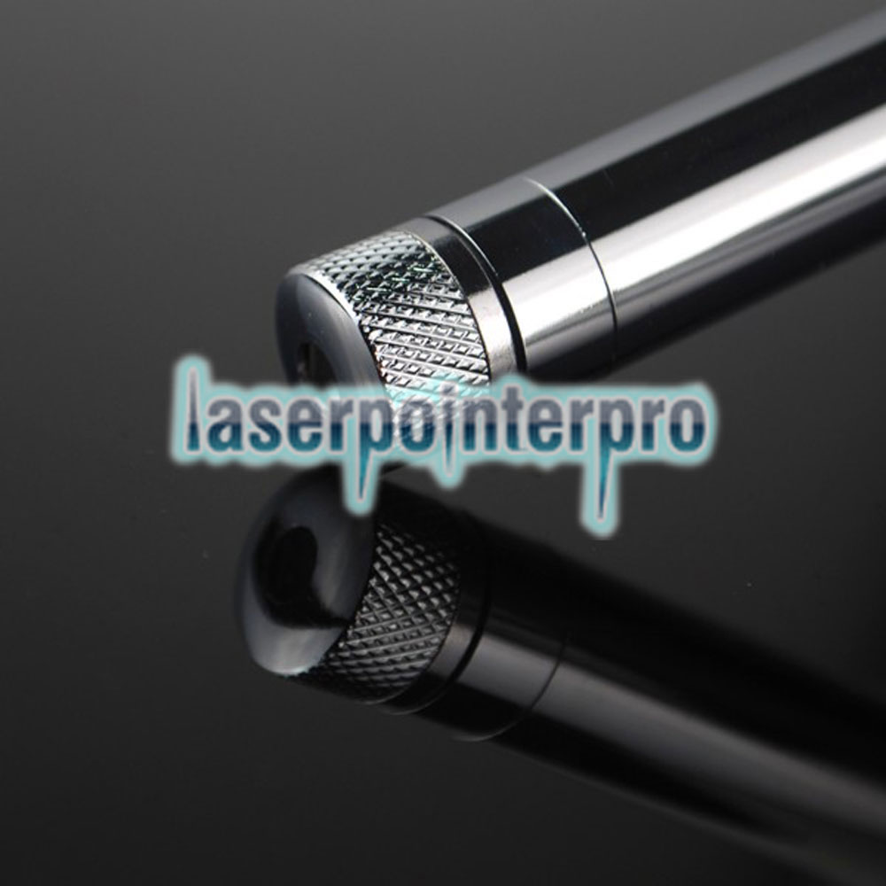 30mw 532nm Green Beam Light Starry Sky Light Style All-steel Laser Pointer Pen Bright Metal Color