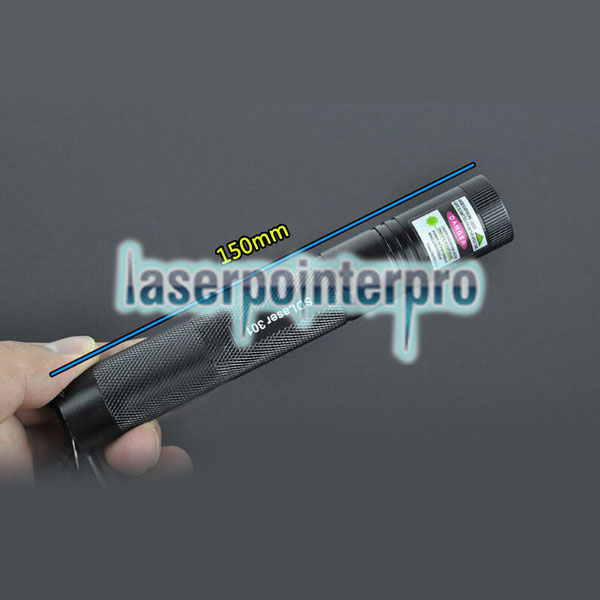 Laser 301 400MW 532nm grünes Licht High Power Laser Pointer Kit Schwarz