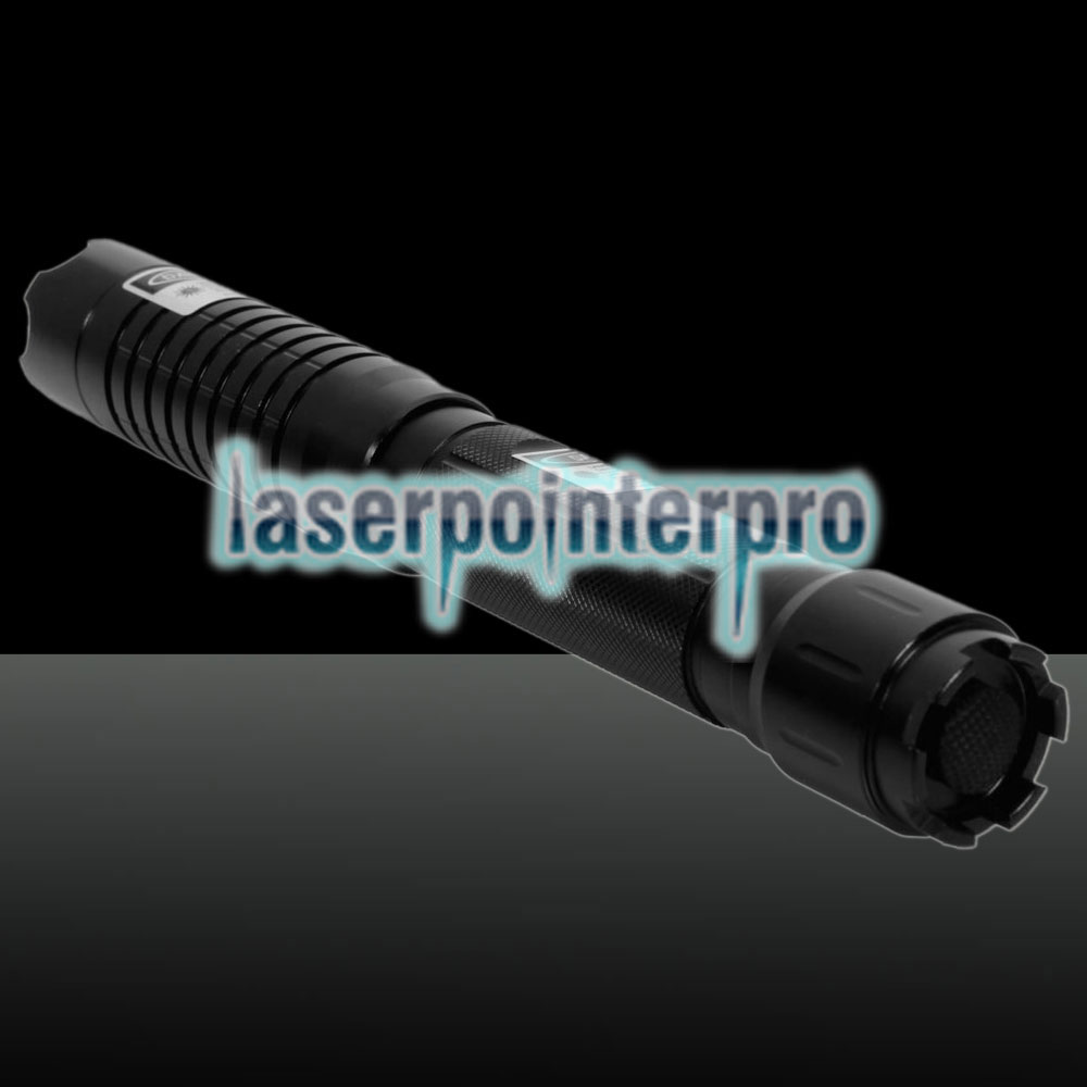 5000mW 450nm Blue Beam Laser Pointer Pen Kit con baterías y cargador