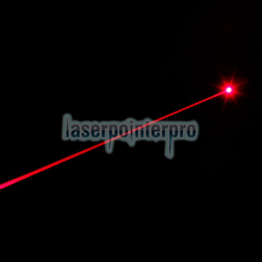 puntero láser rojo