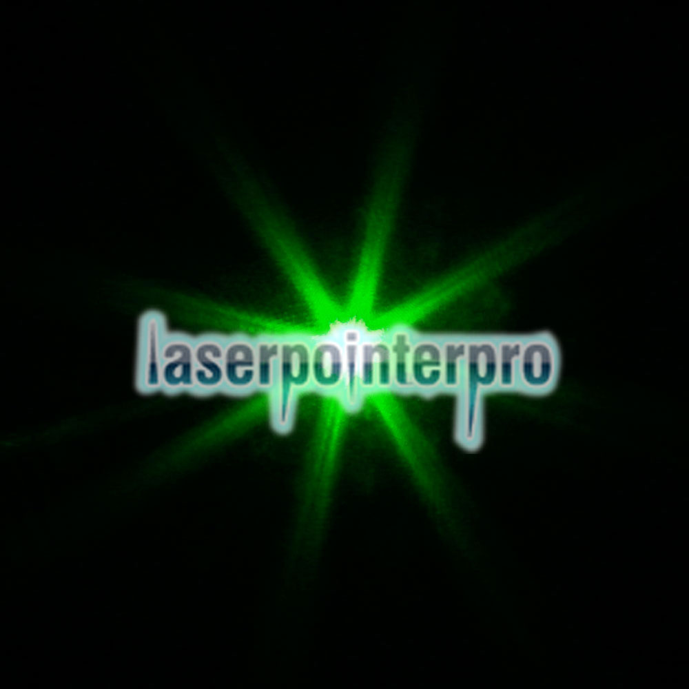 (Sem embalagem) 1mW 532nm Green Laser Pointer Pen Preto