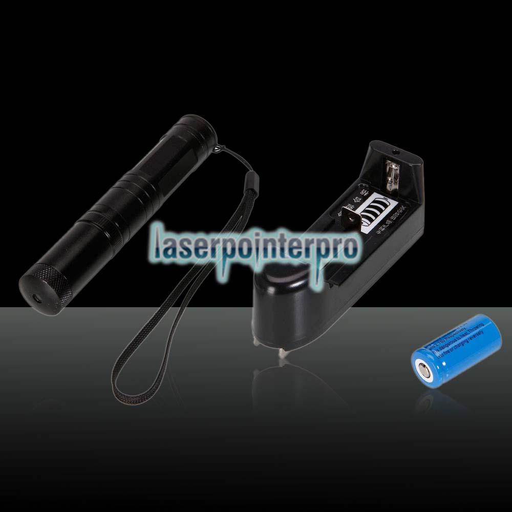 RL851 Stylo Pointeur Laser Vert Kaleidoscopique 150mW 532nm Noir