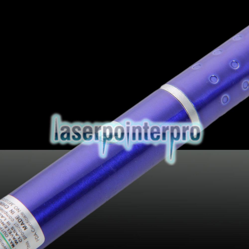 5mW Gypsophila Light Pattern Professional Green Laser Pointer Blue