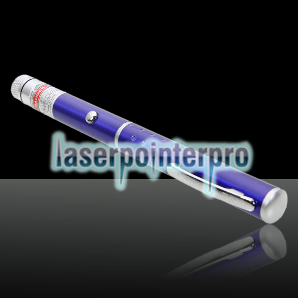 20mW Professional Gypsophila Light Padrão Verde Laser Pointer Azul