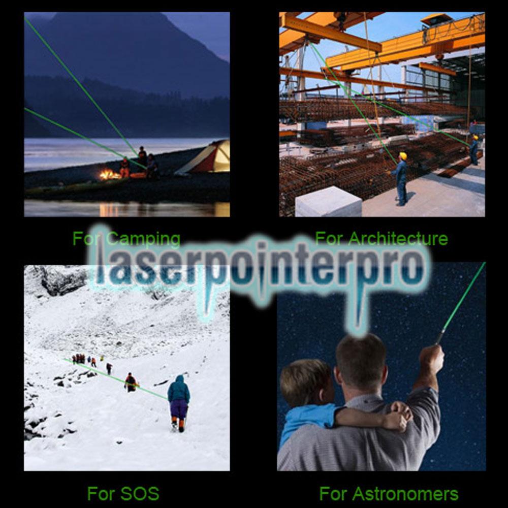 Puntatore laser verde professionale da 20 mW Gypsophila Light Blue