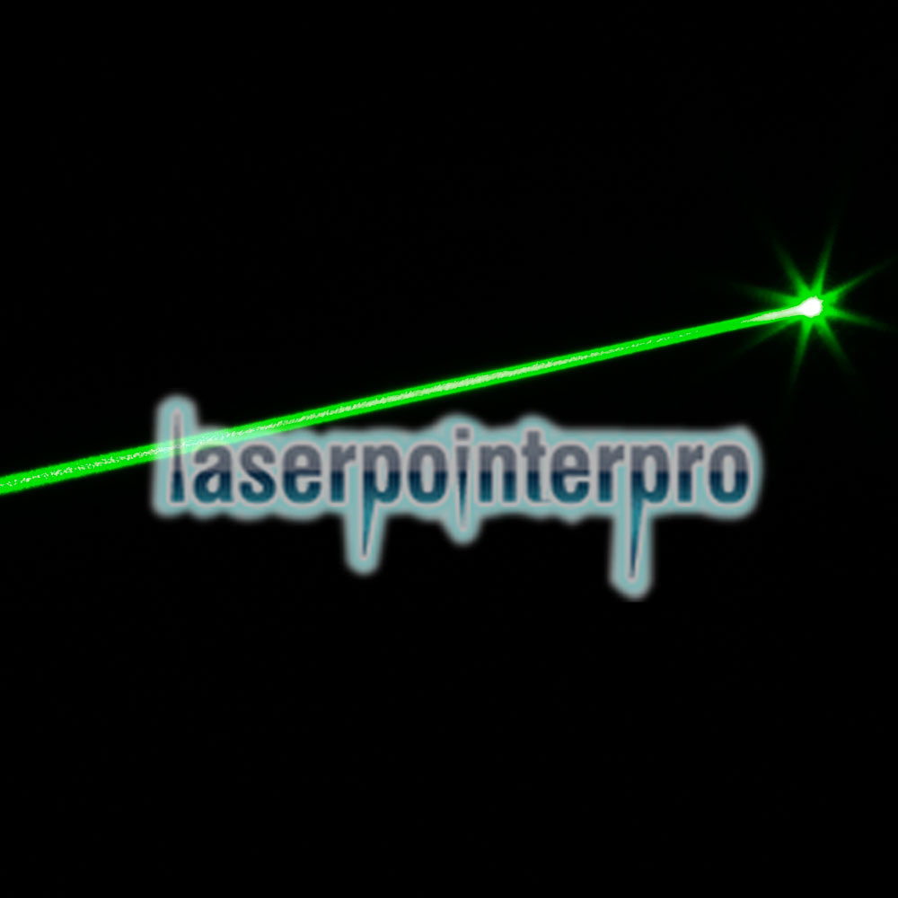 20mW Professional Gypsophila Light Pattern Green Laser Pointer Blue