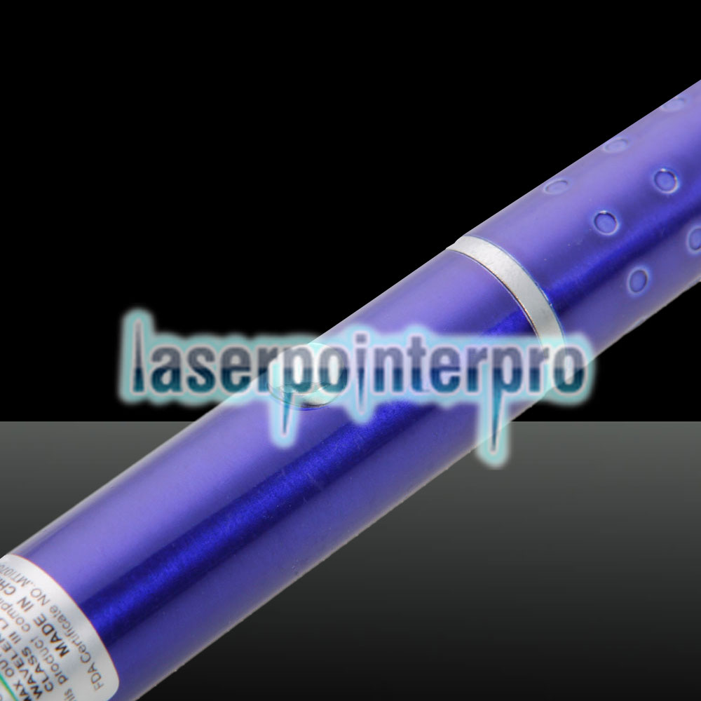200mW Professional Gypsophila Light Pattern Green Laser Pointer Blue