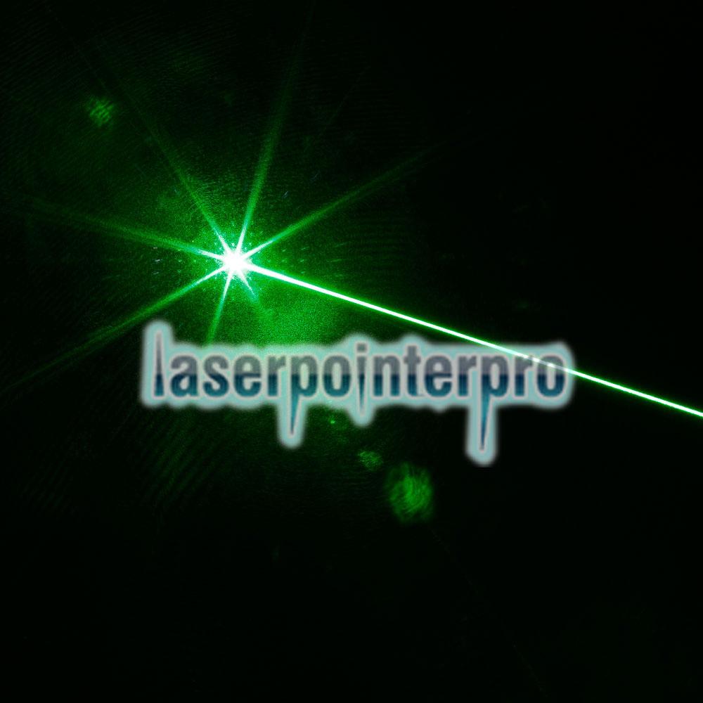 Fato apontador laser de luz verde de 2000mW de alta potência atacada prata
