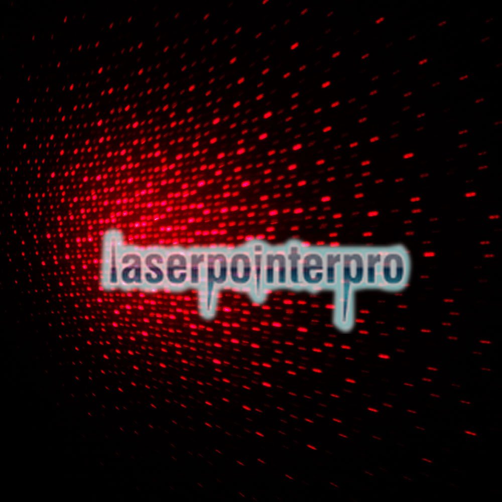 Laser 301 100MW Professional Red Light Laser Pointer with 5 Heads & Box Black
