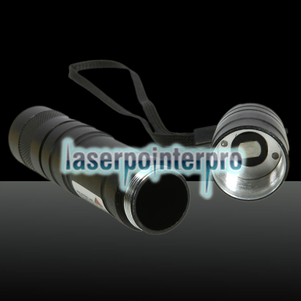 300MW Professional Red Light Laser Pointer com Box (CR123A bateria de lítio)