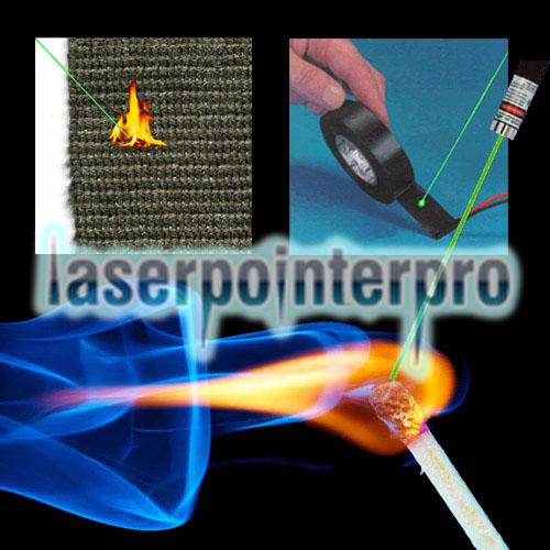ponto de laser verde