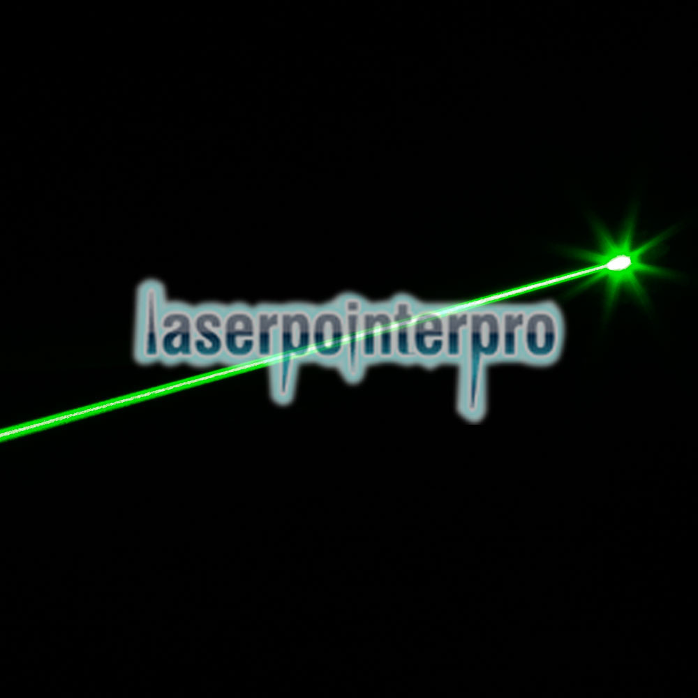 1mW 532nm Mid-open Beam Green Laser Pointer Black