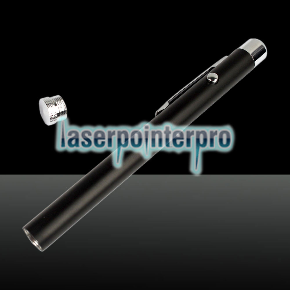 1mW 650nm Beam Red Laser Pointer Pen Negro